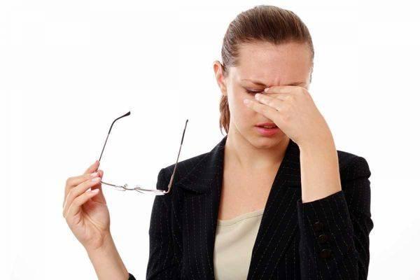 Причины офтальмологических нарушений
