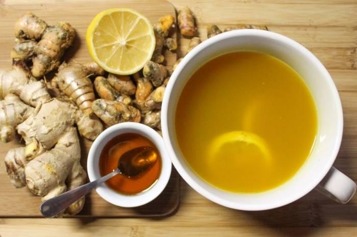 Чай с медом при кашле