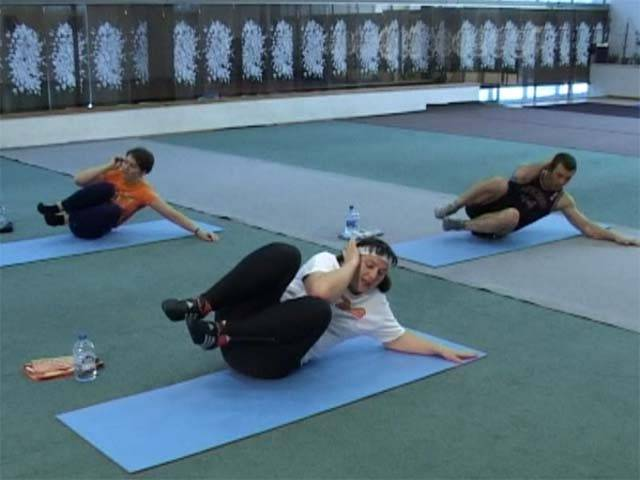 Адаптивна гімнастика Бубновського для початківців навчальне відео