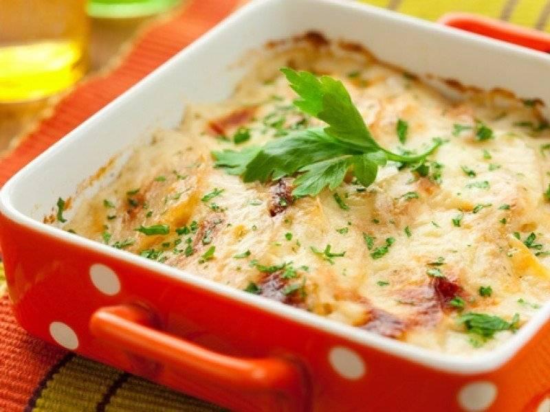 Рецепт запеканки с цветной капустой и сыром