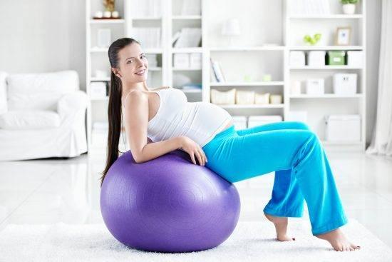 Физическая нагрузка на беременных