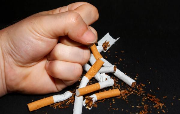 сломанные сигареты