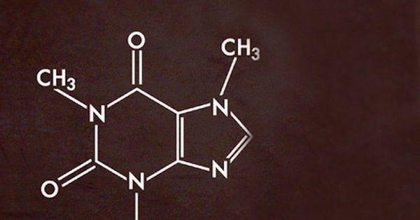Молекула кофеина