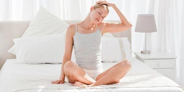 тибетская гимнастика для похудения в постели