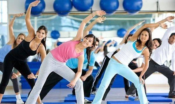 Ритмическая гимнастика для похудения